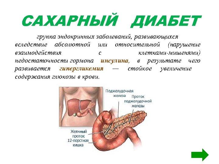 Диабет из за чего развивается