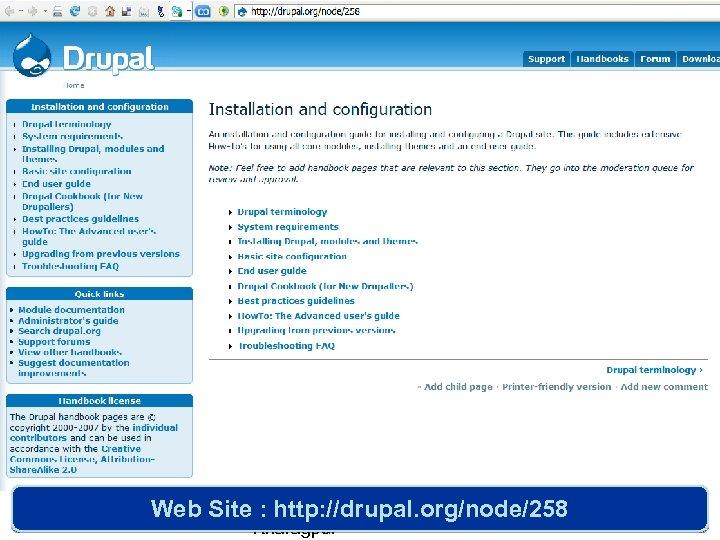 Web Site Samrat Guha Roy, IIT : http: //drupal. org/node/258 Kharagpur 11