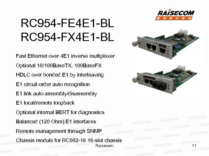 RC 954 -FE 4 E 1 -BL RC 954 -FX 4 E 1 -BL