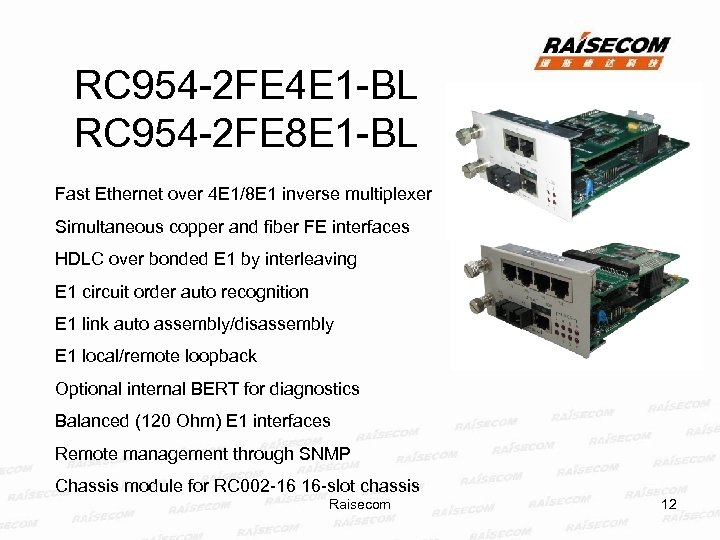 RC 954 -2 FE 4 E 1 -BL RC 954 -2 FE 8 E