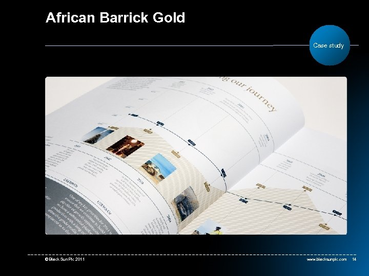 African Barrick Gold Case study © Black Sun Plc 2011 www. blacksunplc. com 14