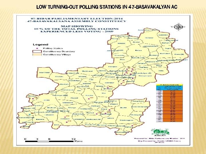 LOW TURNING-OUT POLLING STATIONS IN 47 -BASAVAKALYAN AC