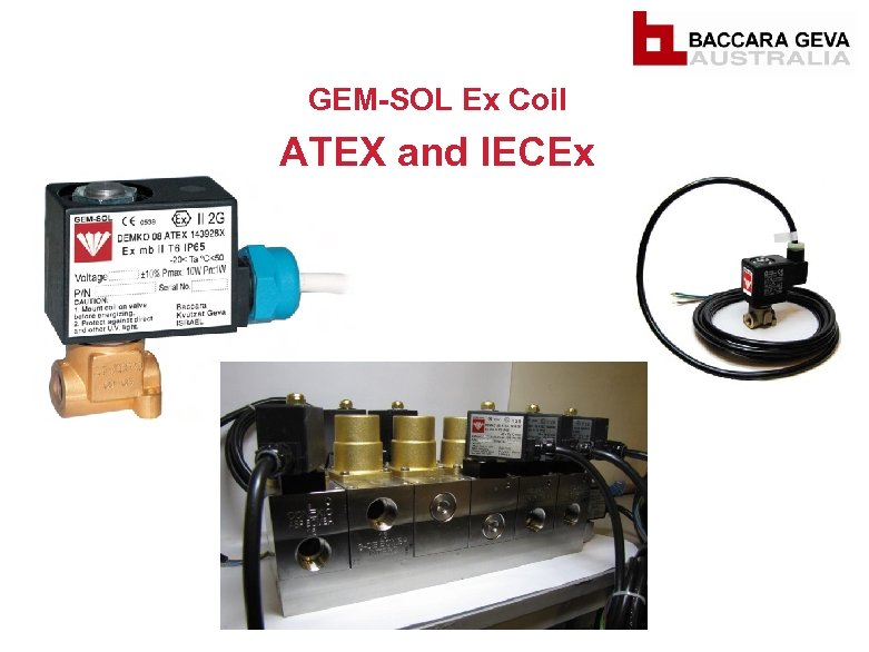 GEM-SOL Ex Coil ATEX and IECEx