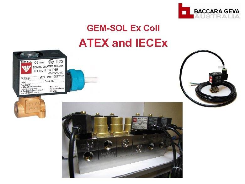 GEM-SOL Ex Coil ATEX and IECEx