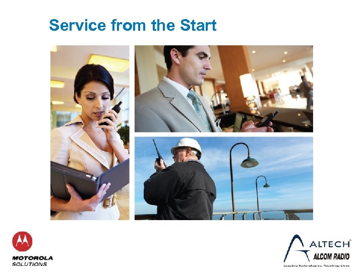 Service from the Start