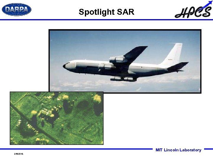 Spotlight SAR MIT Lincoln Laboratory 3/19/2018