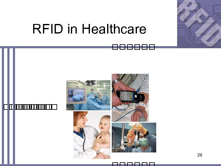 RFID in Healthcare 28
