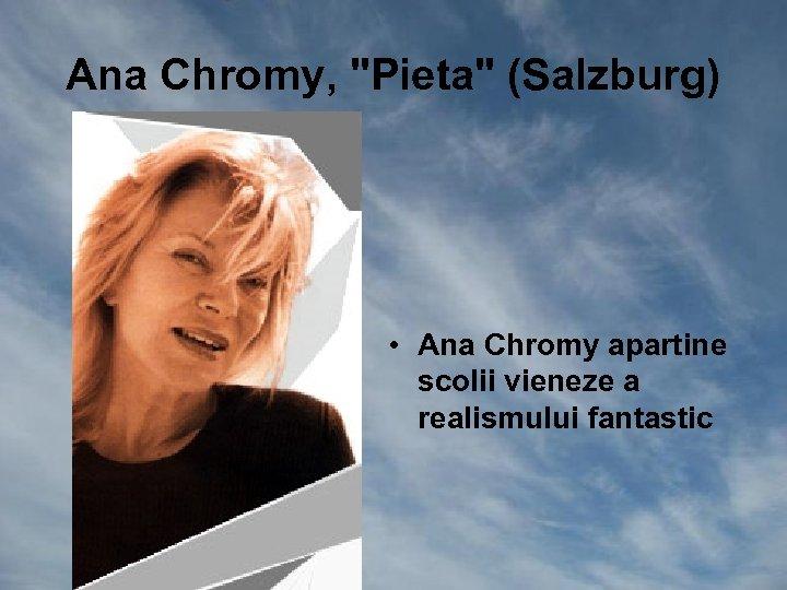 Ana Chromy,