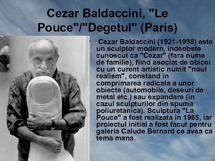 Cezar Baldaccini,