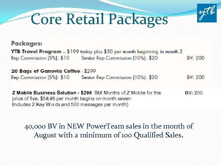 Core Retail Packages Z Mobile Business Solution - $299 SIX Months of Z Mobile