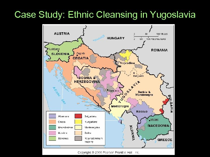 Case Study: Ethnic Cleansing in Yugoslavia