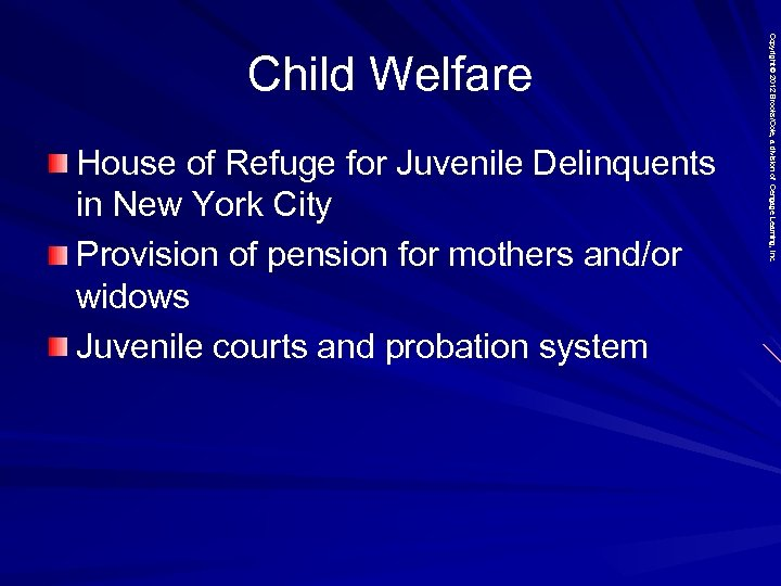 House of Refuge for Juvenile Delinquents in New York City Provision of pension for