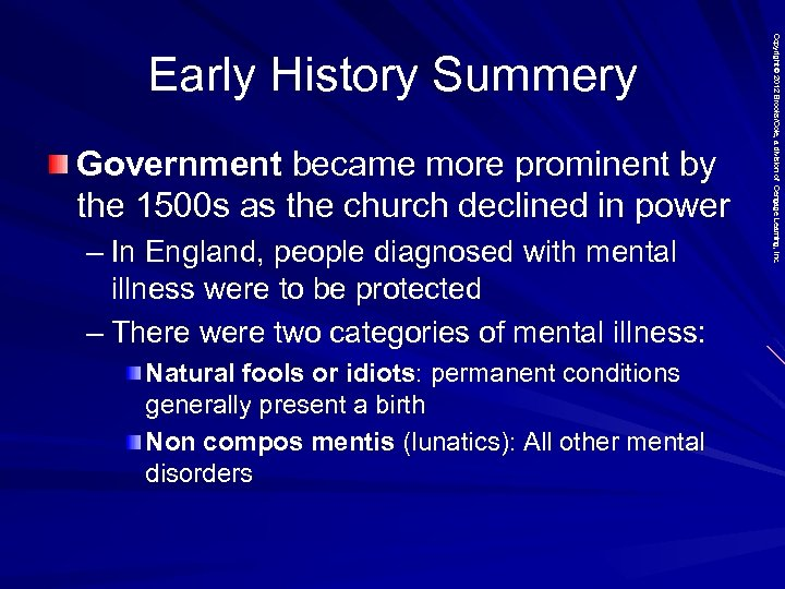 Government became more prominent by the 1500 s as the church declined in power