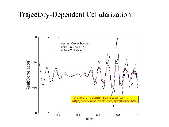 Trajectory-Dependent Cellularization.