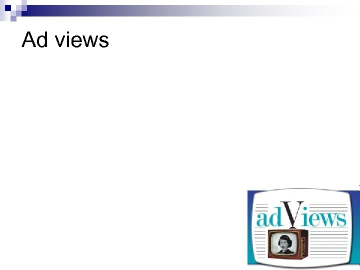 Ad views
