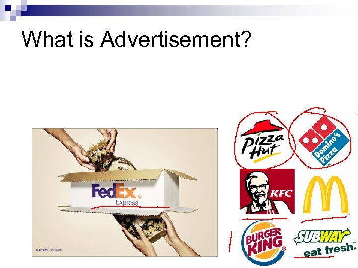 What is Advertisement?