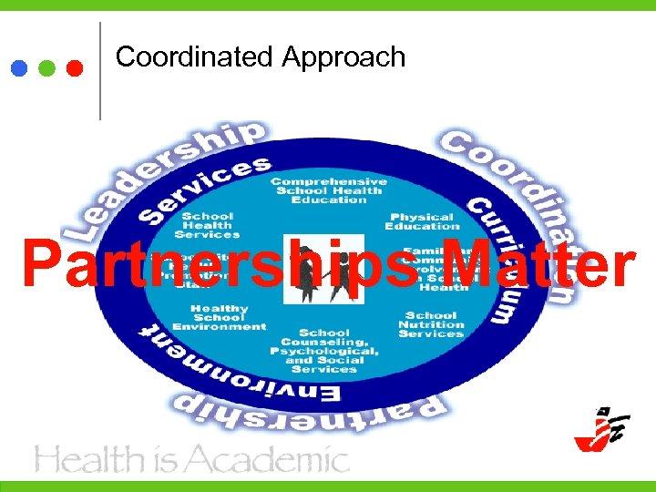 Coordinated Approach Partnerships Matter