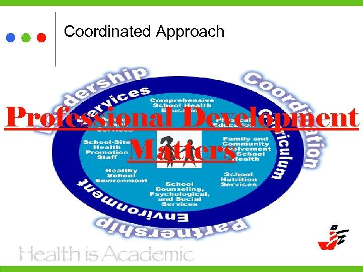 Coordinated Approach Professional Development Matters