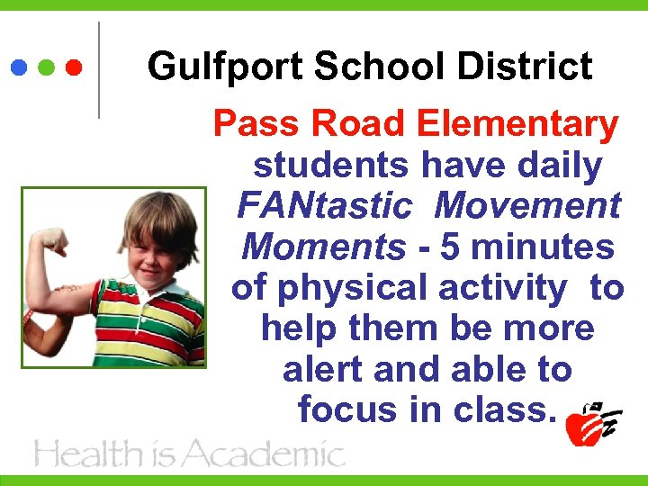 Gulfport School District Pass Road Elementary students have daily FANtastic Movement Moments - 5