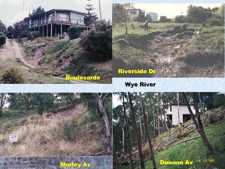 Boulevarde Morley Av Riverside Dr Wye River Dunoon Av