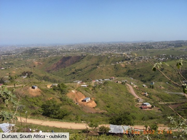 Durban, South Africa - outskirts