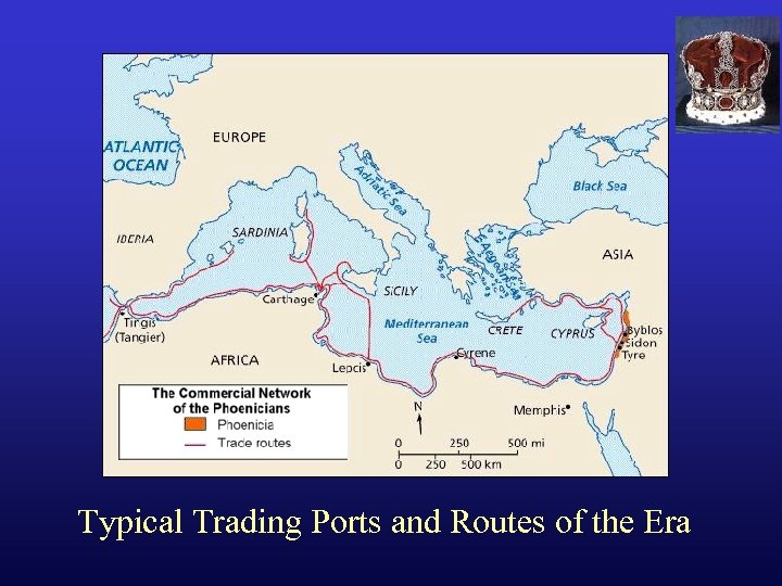 Typical Trading Ports and Routes of the Era