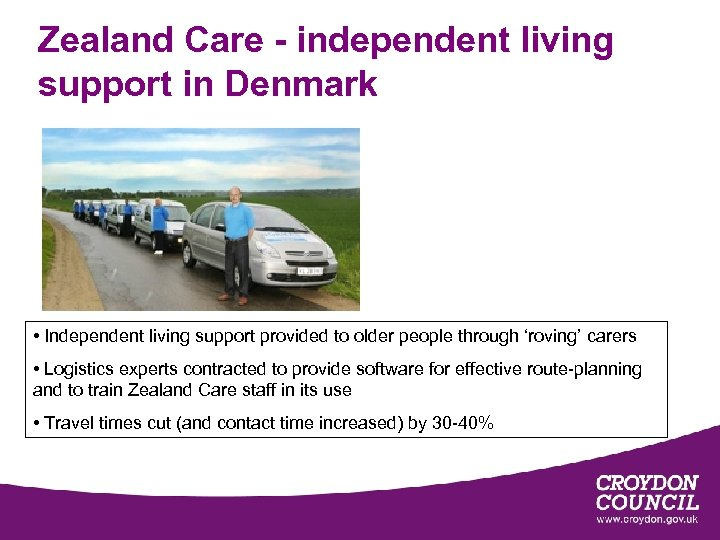 Zealand Care - independent living support in Denmark • Independent living support provided to