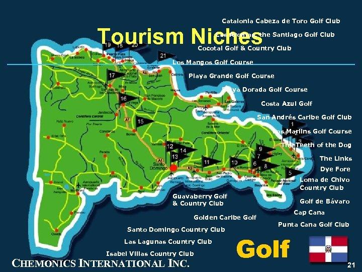 Catalonia Cabeza de Toro Golf Club Tourism Niches Las Aromas, the Santiago Golf Club