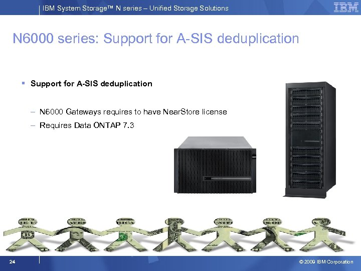 IBM System Storage™ N series – Unified Storage Solutions N 6000 series: Support for