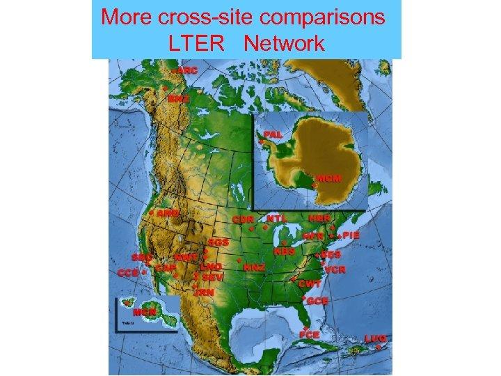 More cross-site comparisons LTER Network