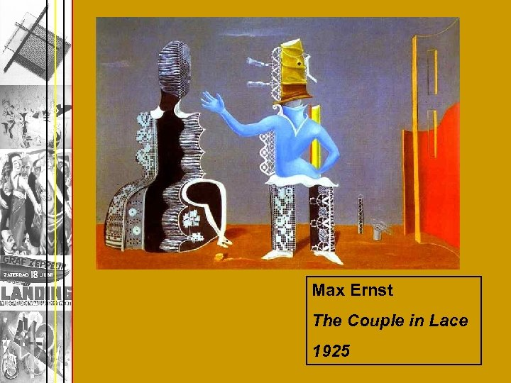 Max Ernst The Couple in Lace 1925