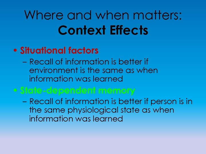 the effect of contextual factors on Purpose – the purpose of this paper is to examine the direct and buffering effects of three workplace contextual factors – constructive leadership, perceived organizational support, and.