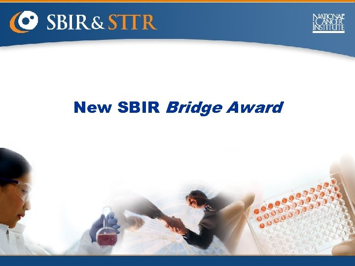 New SBIR Bridge Award