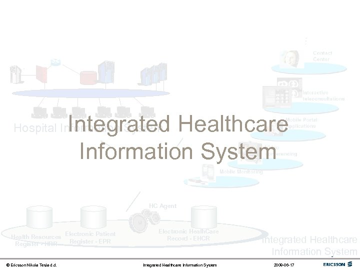- Integrated Healthcare Information System Hospital Information System Health communication network HC Agent Health