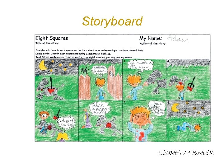 Storyboard Lisbeth M Brevik