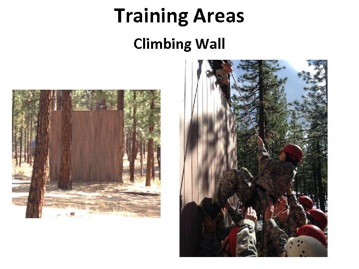 Training Areas Climbing Wall