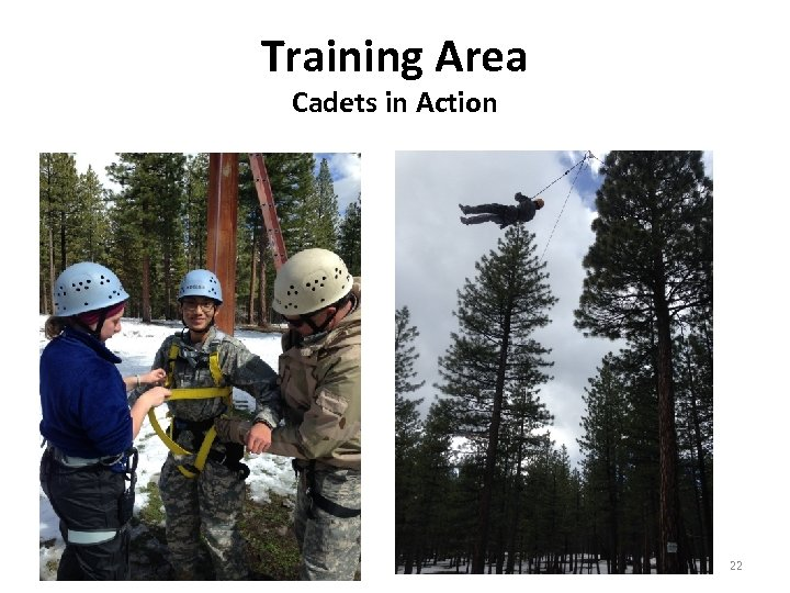 Training Area Cadets in Action 22