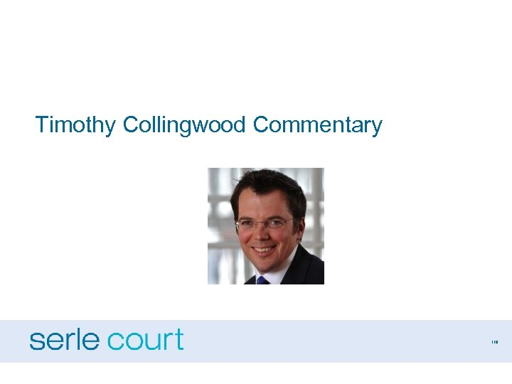 Timothy Collingwood Commentary 119