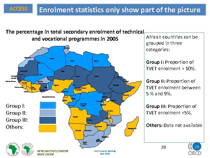 Enrolment statistics only show part of the picture ACCESS The percentage in total secondary