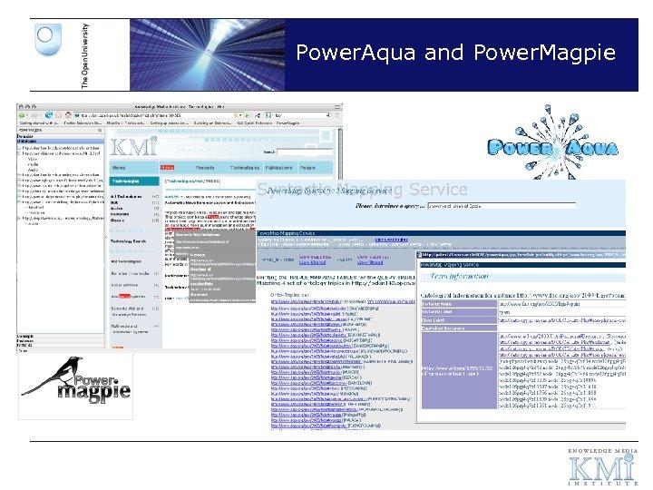 Power. Aqua and Power. Magpie