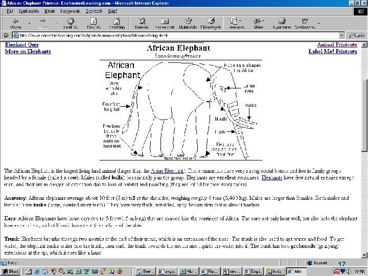 http: //www. enchantedlearning. com/Dictionary. html Képes szótár 17