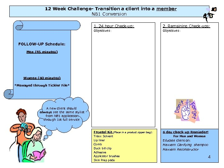 12 Week Challenge- Transition a client into a member NB 1 Conversion 1. 24