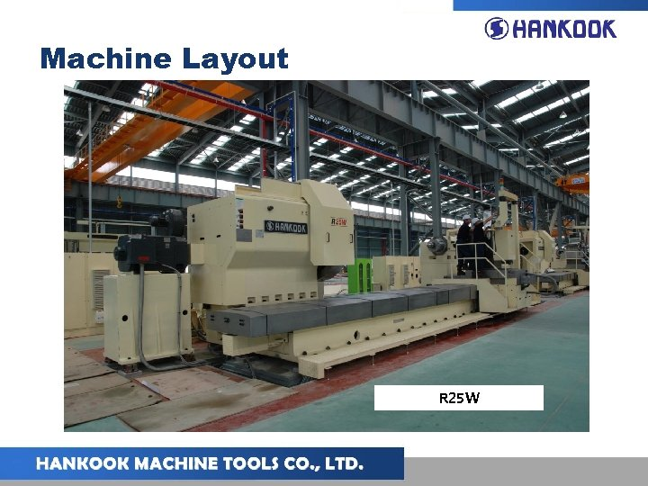 Machine Layout R 25 W