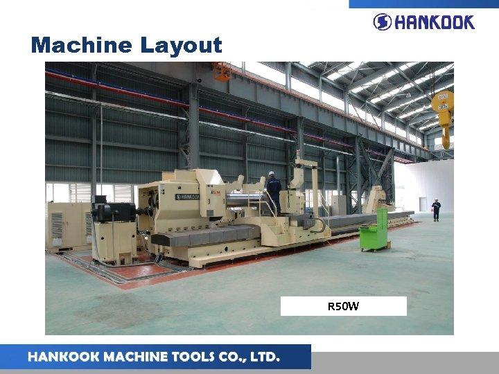 Machine Layout R 50 W