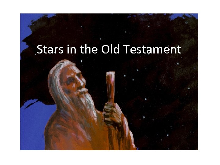 Stars in the Old Testament