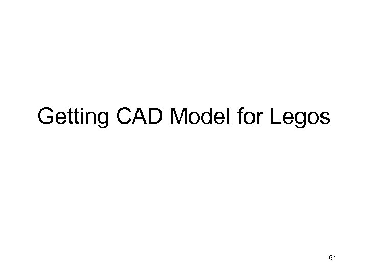 Getting CAD Model for Legos 61
