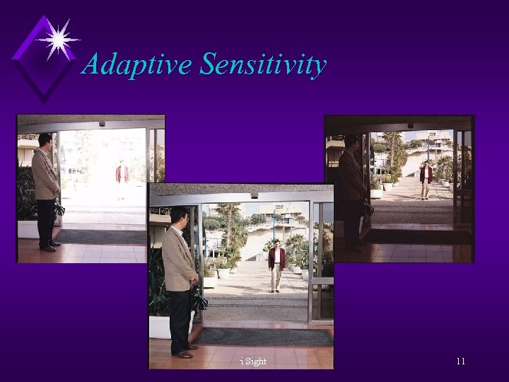 Adaptive Sensitivity i Sight 11