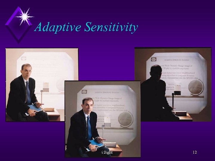 Adaptive Sensitivity i Sight 12