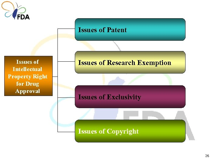 Issues of Patent Issues of Intellectual Property Right for Drug Approval Issues of Research