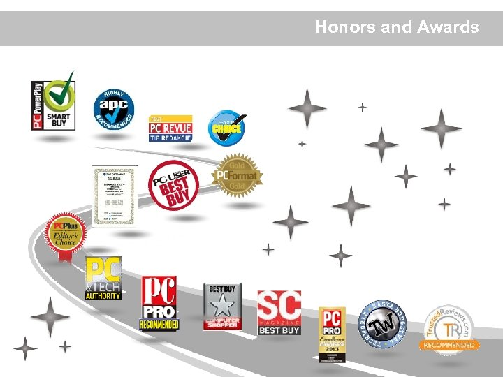 Honors and Awards ? 12 ? 2012 Billion Electric Co. , Ltd.